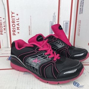 AthleTech Womens Willow 2 Pink Running Shoes Sz 4